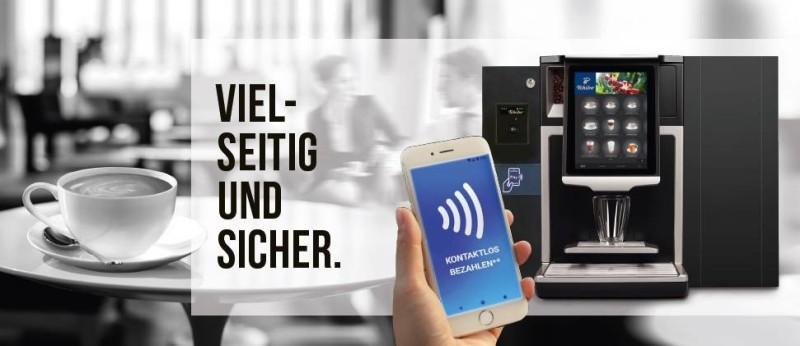 Kontaktlose Bezahlsysteme von Tchibo Coffee Service
