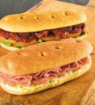Italienischer Sandwich Genuss