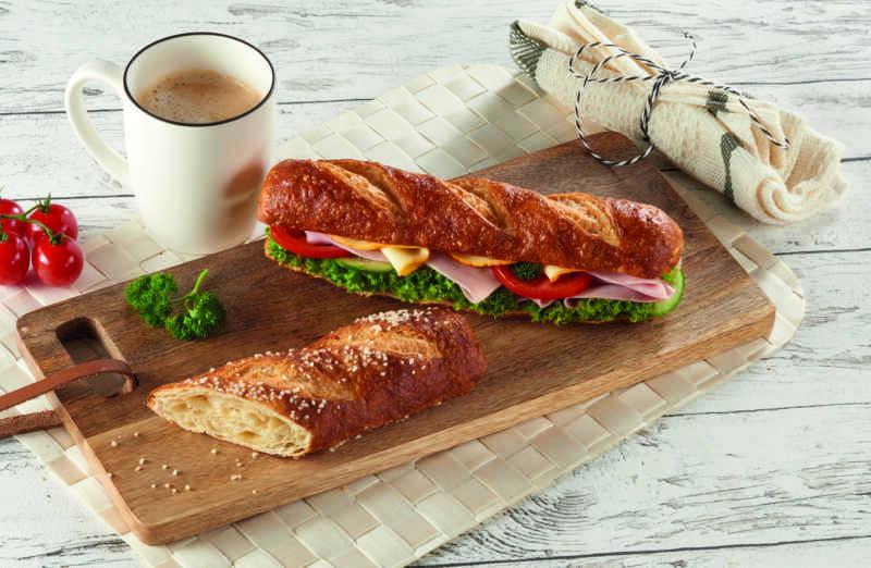 Laugen-Croguette – Softer Croissantteig trifft Laugenbaguette