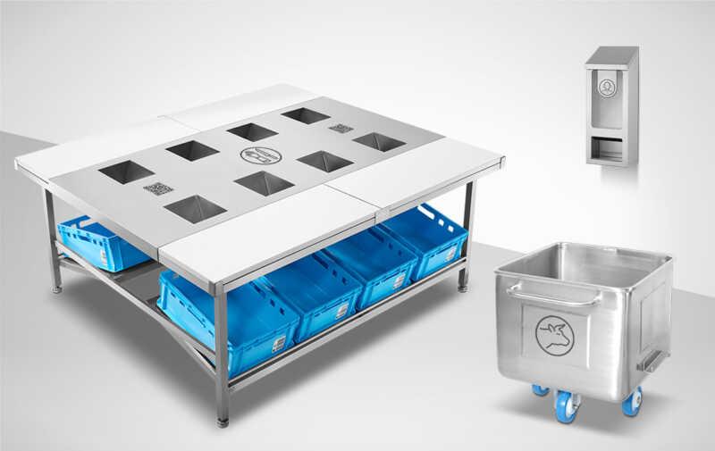 Mohn GmbH: Dauerhafte Beschriftung auf Edelstahl schafft Übersicht auf Geräten, Behältern und Einrichtungen
