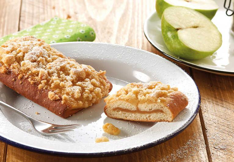 Apfel und Karamell lecker kombiniert