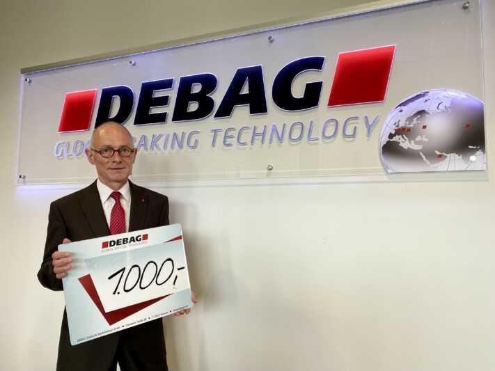 DEBAG spendet 1.000 EUR für Bäcker in den Überflutungsgebieten