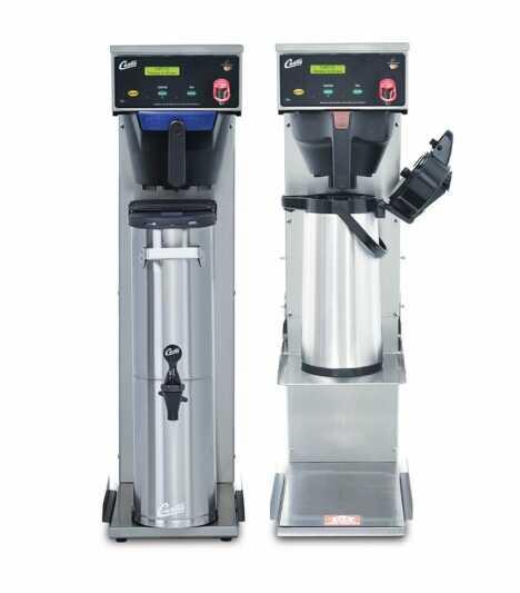 Curtis Brühsysteme bieten große Mengen Kaffee, Tee und heißes Wasser für die Gemeinschaftsverpflegung