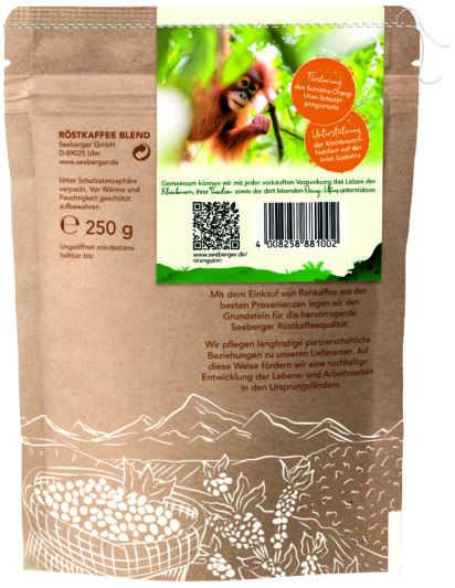 Seeberger Professional unterstützt das Orang-Utan-Coffee Projekt in Indonesien