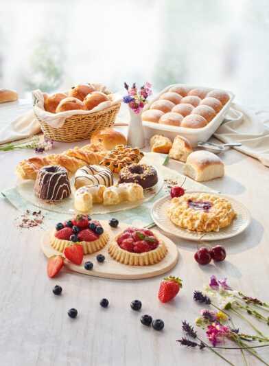 VEGANtisch leckere Kuchenvielfalt